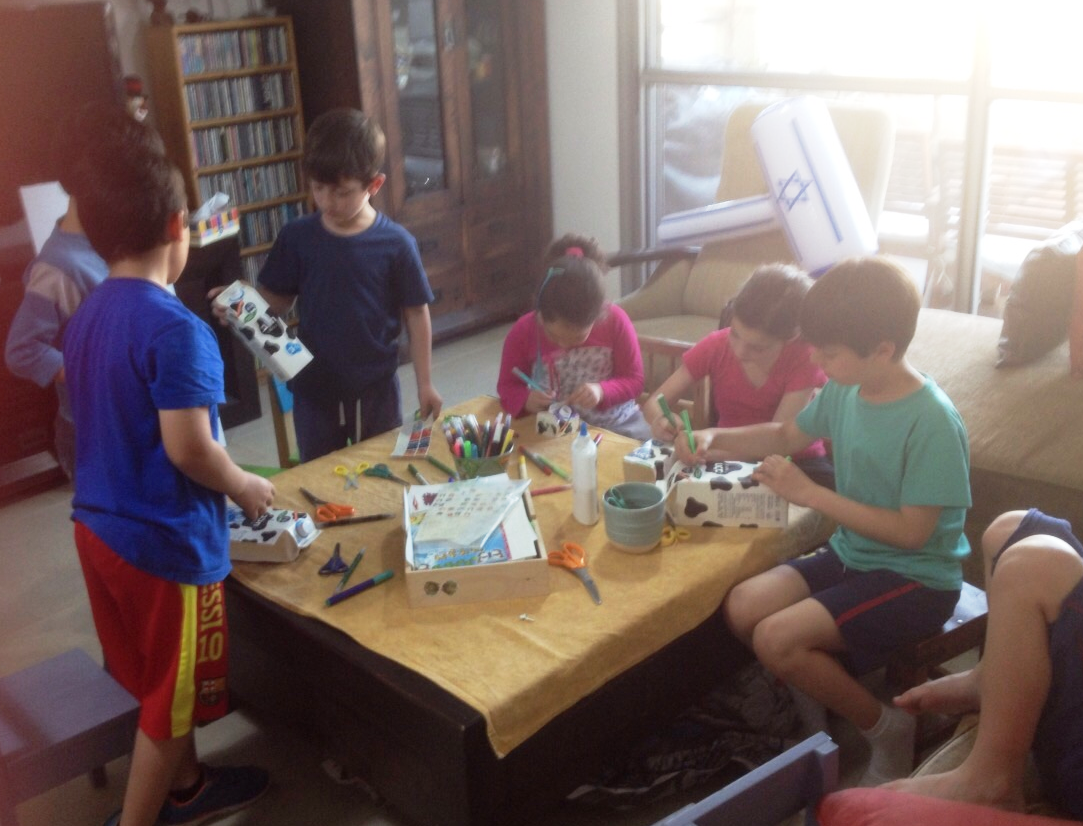 פעילות לילדים בבית - ספארי טבע (2)