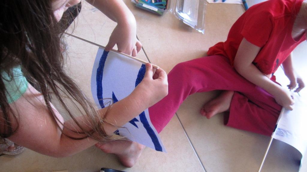 פעילות עם הילדים ליום העצמאות