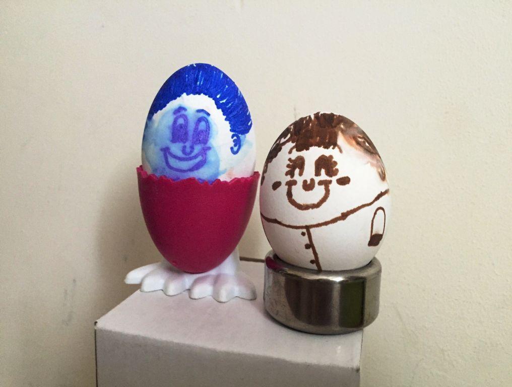 בית מארח מקורי – הפעלה עם ביצים