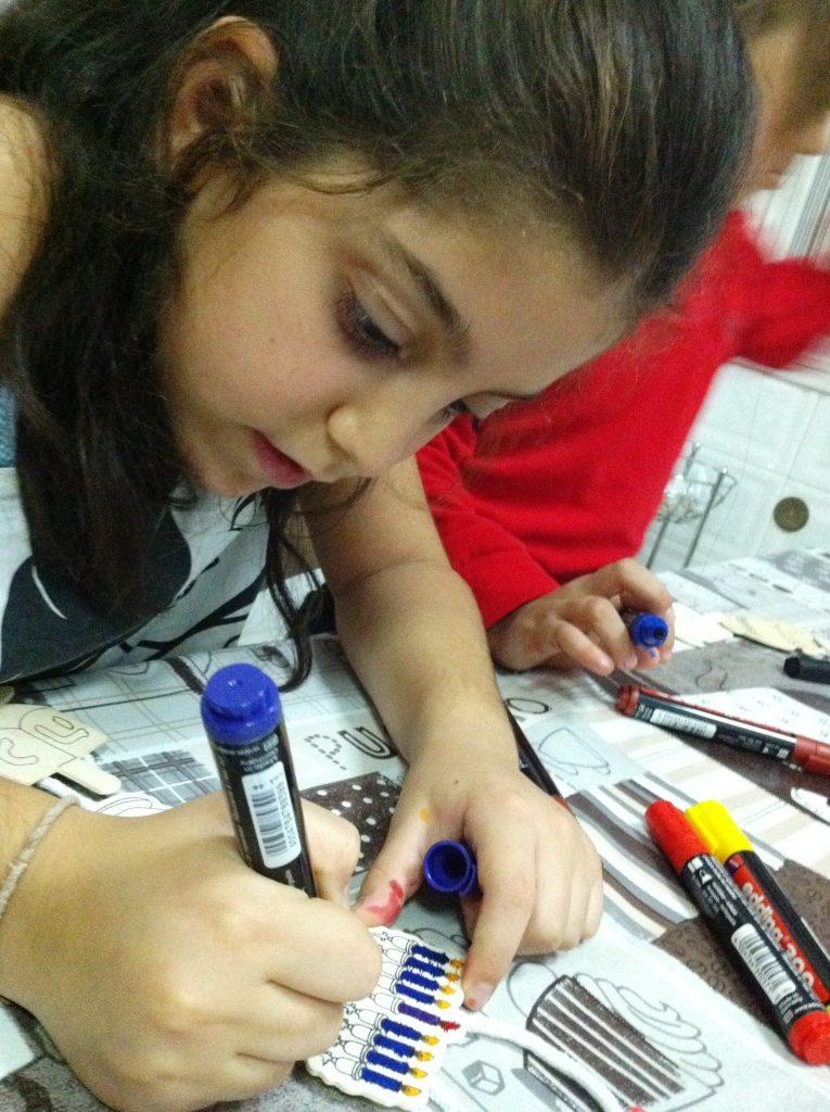 חנוכה רעיונות באנו צופן לחפש פעילות בבית לילדים לחנוכה