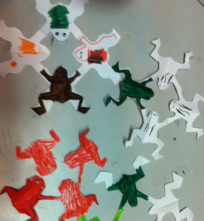 משחק מכת צפרדעים - ערכת בית מארח לפסח