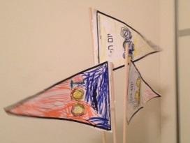 דגלים אישיים - קל להכין