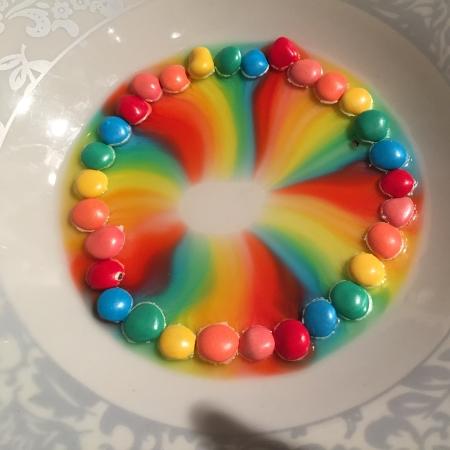 ניסוי מדעי עם סוכריות