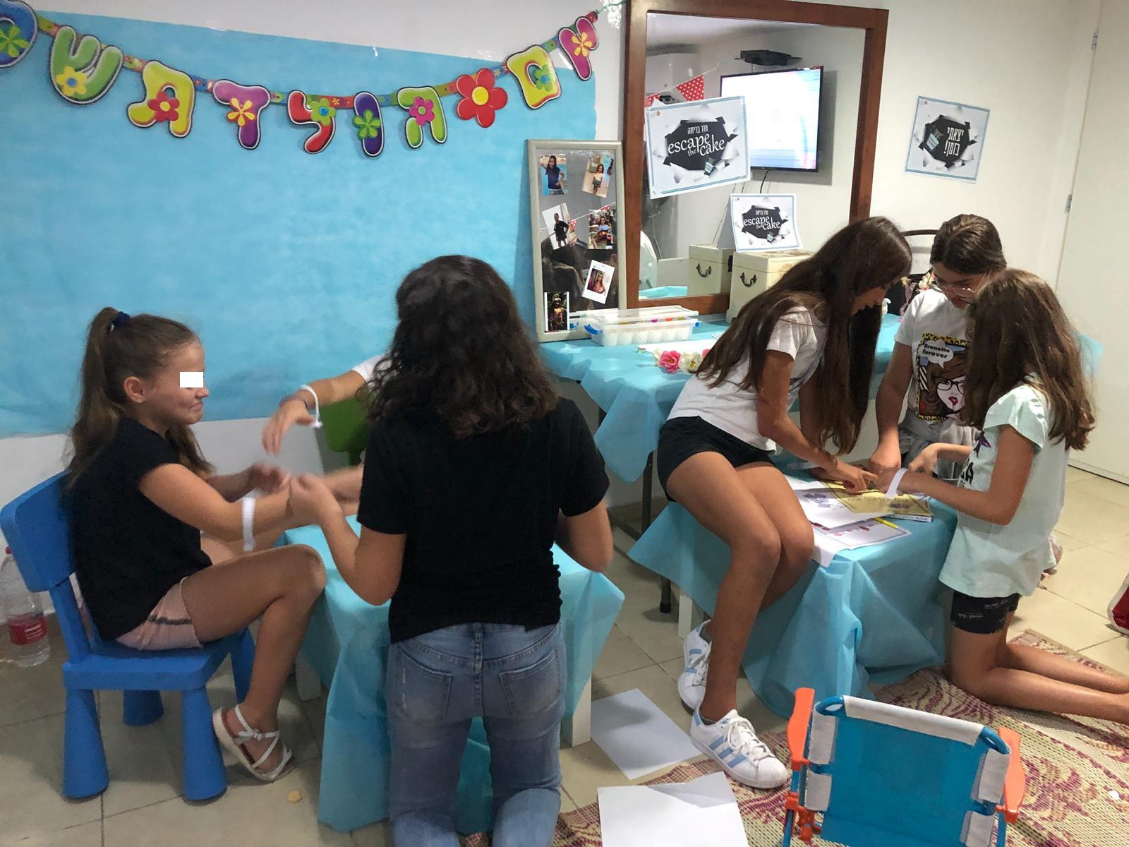 חדר בריחה בבית לילדים