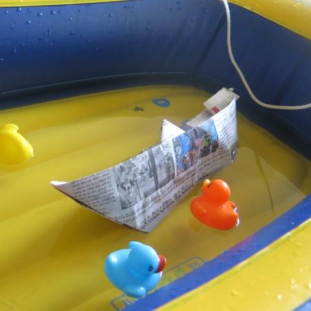 עשה זאת בעצמך (DIY) – איך מכינים סירת נייר מאוריגמי