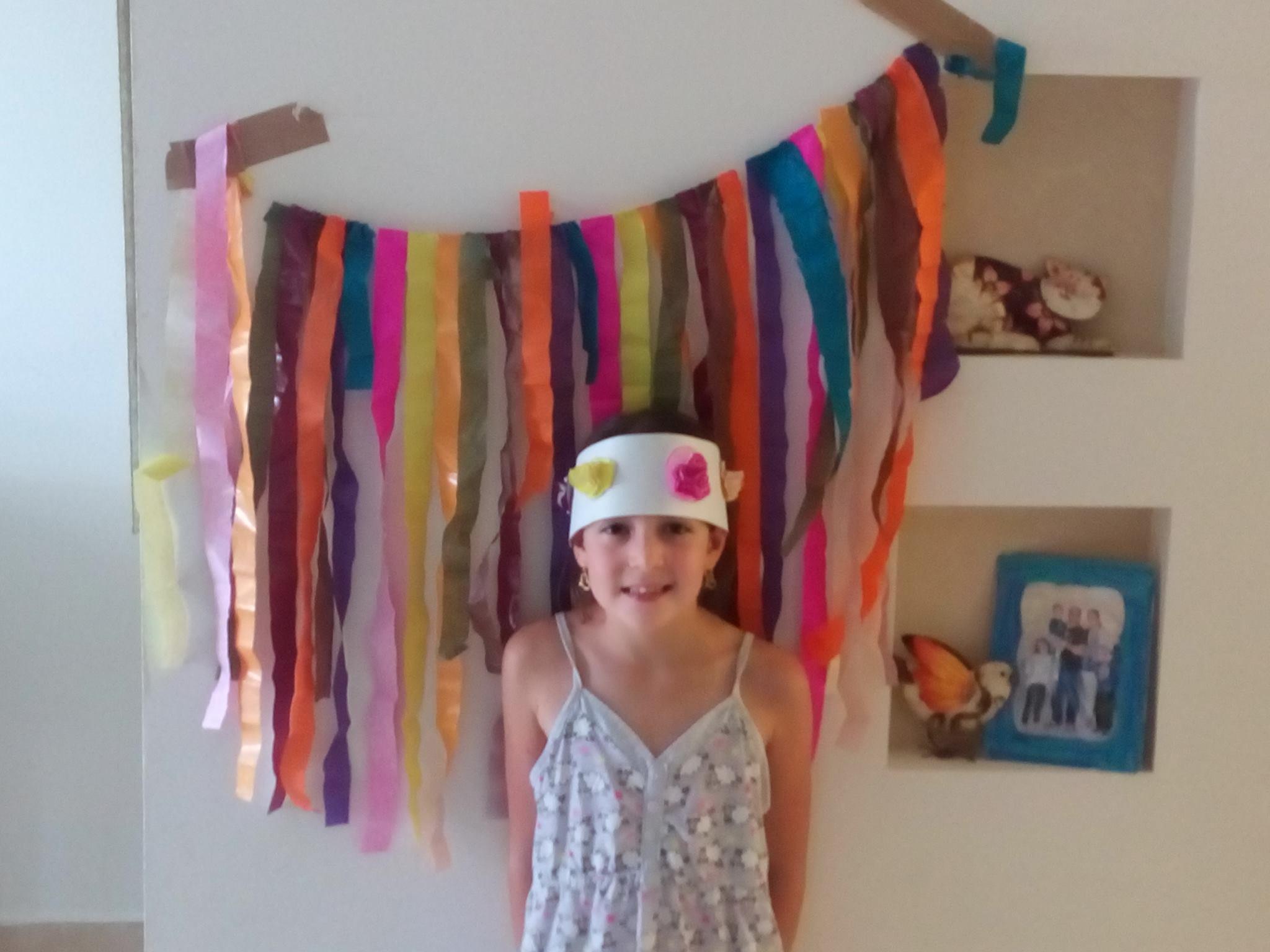 כתר יום הולדת פעילויות לילדים בבית קיטנת החופש הגדול